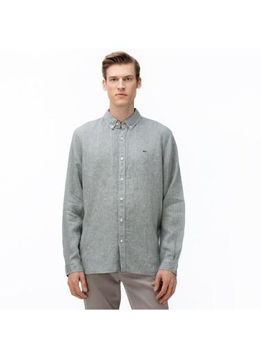 Lacoste Erkek Regular Gömlek CH4990.S86 Yeşil